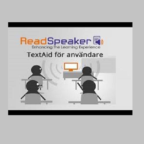 TextAid Webbaserad talsyntes Campuslicens/Kommunlicens